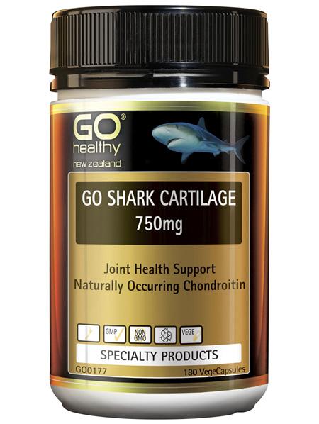 GO Shark Cartilage 750mg 180 Vcaps
