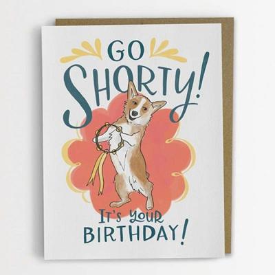 Go Shorty Card
