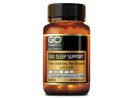 GO SLEEP SUPPORT - NON ADDICTIVE, NON DROWSY (30 VCAPS)