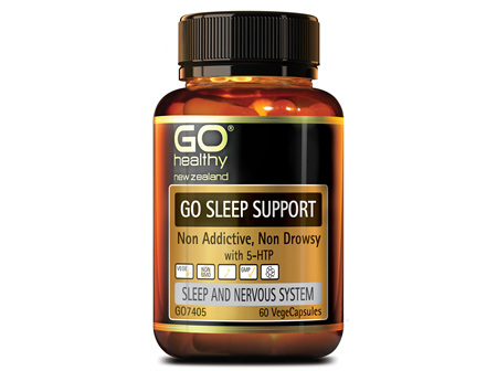 GO SLEEP SUPPORT - NON ADDICTIVE, NON DROWSY (60 VCAPS)