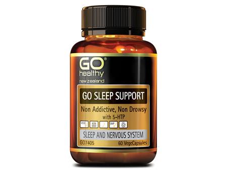 GO SLEEP SUPPORT - NON ADDICTIVE, NON DROWSY (60 VCAPS)