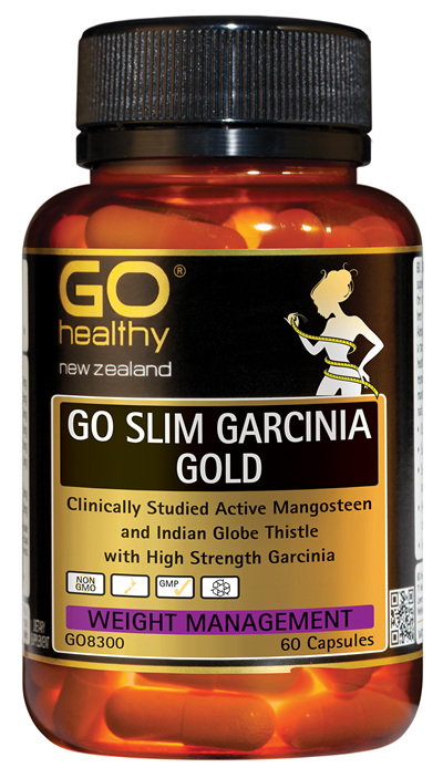 GO SLIM GARCINIA GOLD - Clinically Studied Active Mangosteen (60 caps)