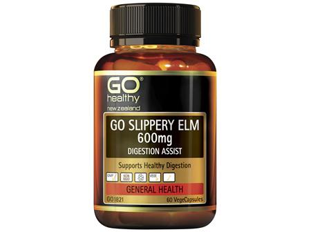 GO Slippery Elm 600mg 60 VCaps