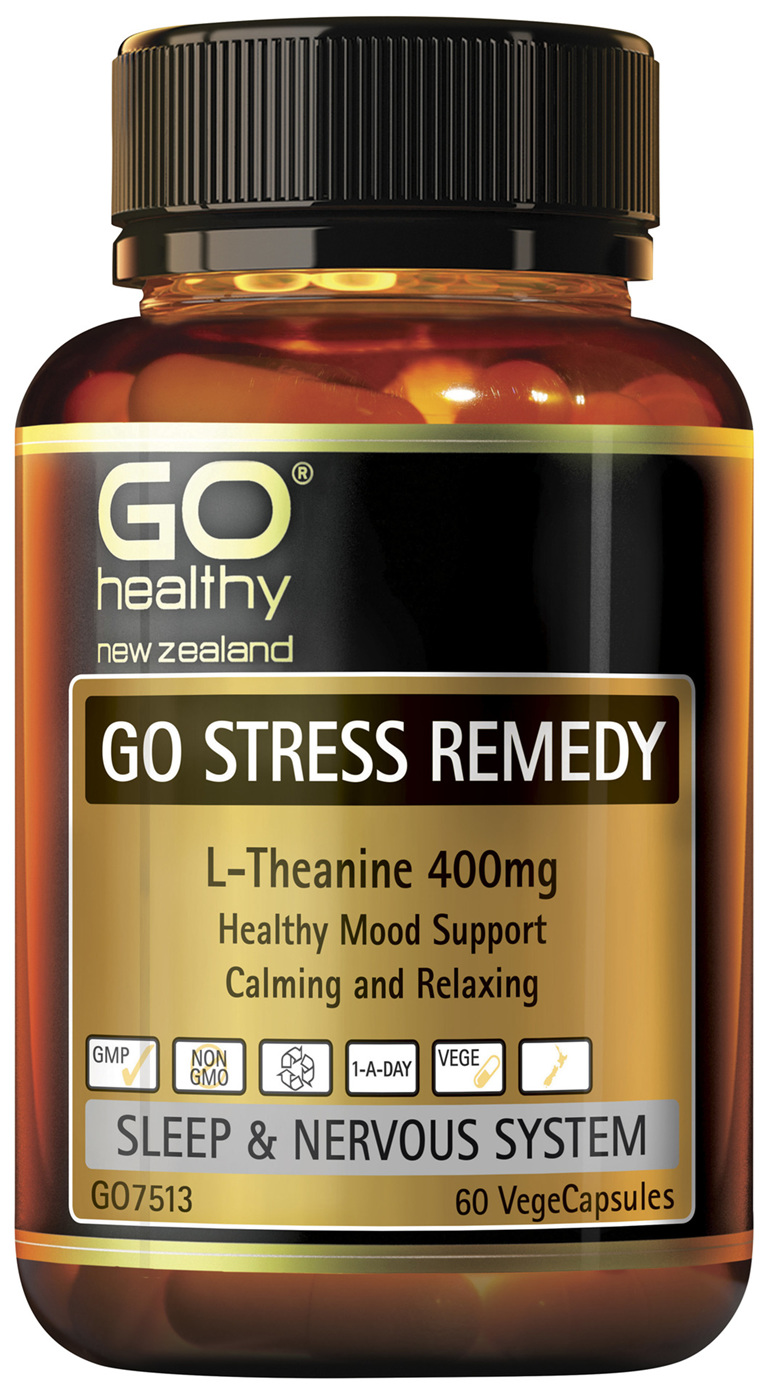 GO Stress Remedy 60 VCaps