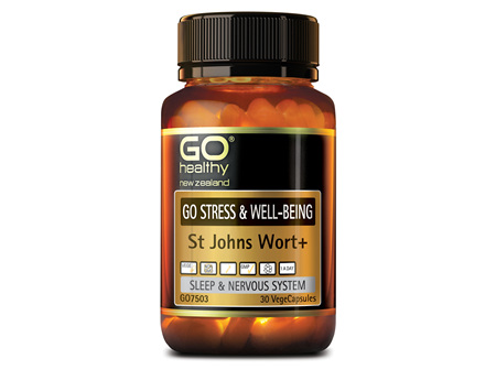 GO STRESS & WELL-BEING - ST JOHNS WORT + (30 VCAPS)