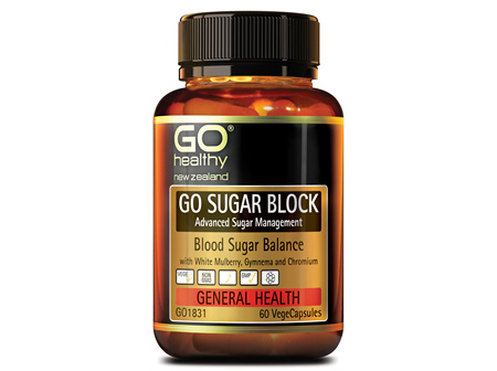 GO SUGAR BLOCK - ADVANCED SUGAR MANAGEMENT (60 VCAPS)