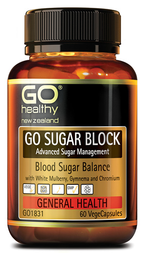 GO SUGAR BLOCK - ADVANCED SUGAR MANAGEMENT (60 VCAPS)
