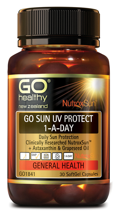 GO SUN UV PROTECT - Daily Sun Protection (30 Caps)