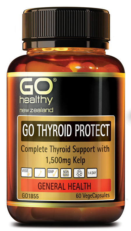 GO THYROID PROTECT - THYROID SUPPORT WITH 1500MG KELP (60 VCAPS)