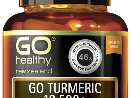 GO Turmeric 18,500+ 1-A-Day 30 VCaps