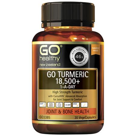 GO Turmeric 18500+ 1-A-Day 30vcaps