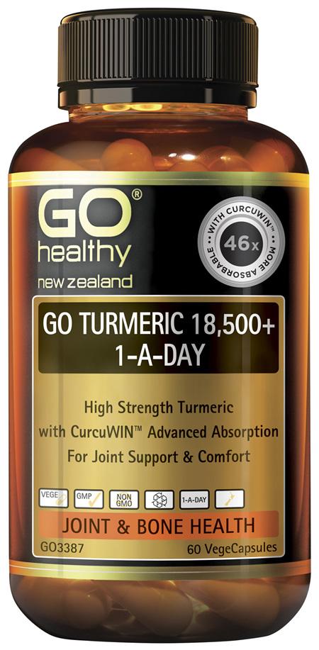 GO Turmeric 18,500+ 1-A-Day 60 VCaps