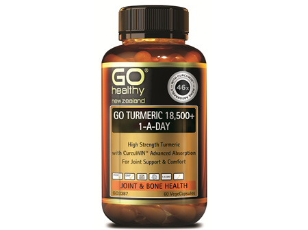 GO TURMERIC 18,500+ 1-A-DAY - HIGH STRENGTH TURMERIC (60 VCAPS)