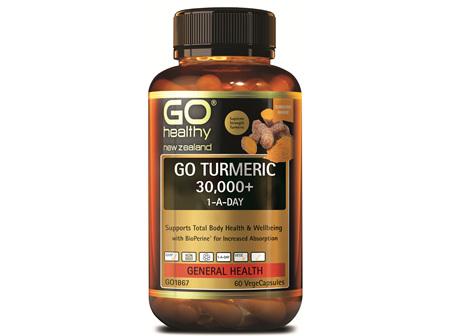 GO TURMERIC 30,000+ 1-A-DAY (60 VCAPS)
