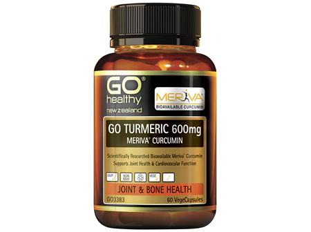 GO Turmeric 600mg 60 VCaps