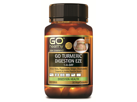 GO TURMERIC DIGESTION EZE 1-A-DAY (30 VCAPS)