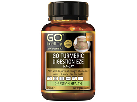 GO Turmeric Digestion Eze 1-A-Day 60 VCaps