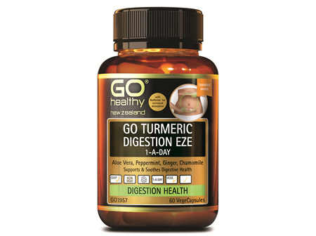 GO TURMERIC DIGESTION EZE 1-A-DAY (60 VCAPS)