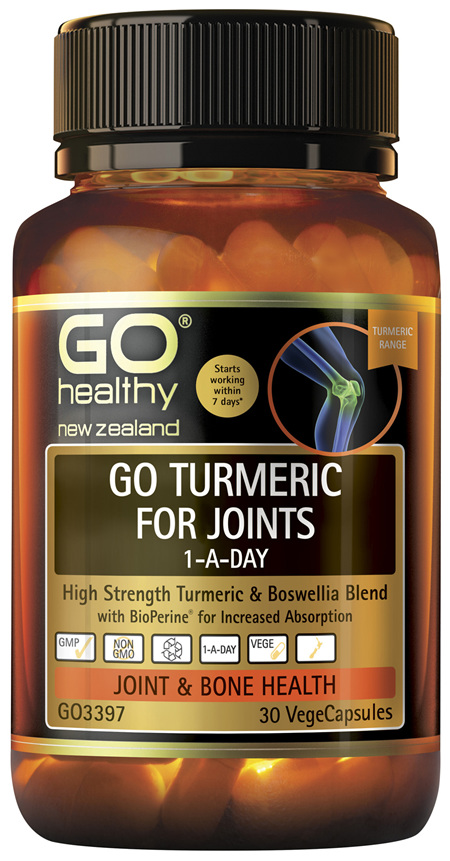 GO Turmeric for Joints 1-A-Day 30 VCaps