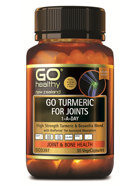 GO TURMERIC FOR JOINTS 1-A-DAY (30 VCAPS)