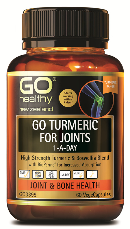 GO TURMERIC FOR JOINTS 1-A-DAY (60 VCAPS)