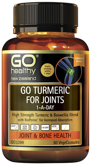 GO Turmeric for Joints 1-A-Day 60 VCaps