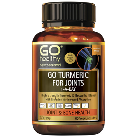 GO Turmeric for Joints 1-A-Day 60Vcap