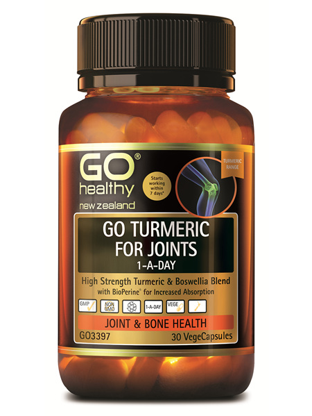 GO Turmeric For Joints 1ADay 30 Vcaps