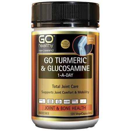 GO Turmeric + Glucos. 1-A-Day 60Vcap