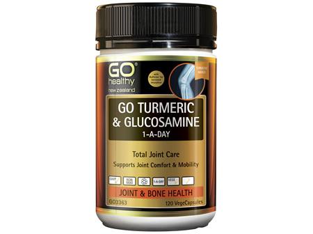GO Turmeric + Glucosamine 1-A-Day 120 Caps