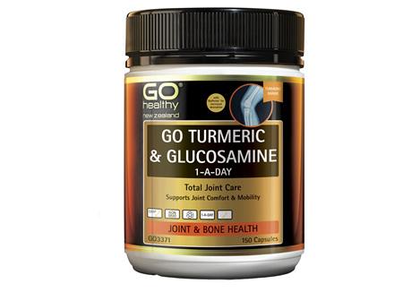 GO Turmeric & Glucosamine 1-A-Day 150 VCaps