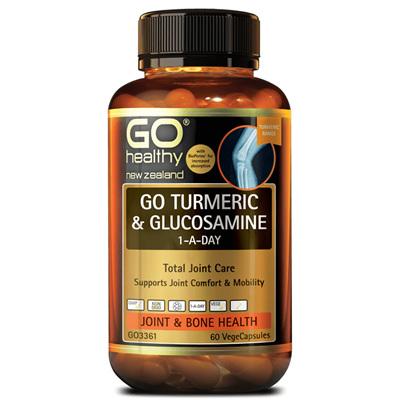 GO Turmeric + Glucosamine 1-A-Day 150cap