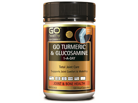 GO Turmeric & Glucosamine (120 Vcaps)