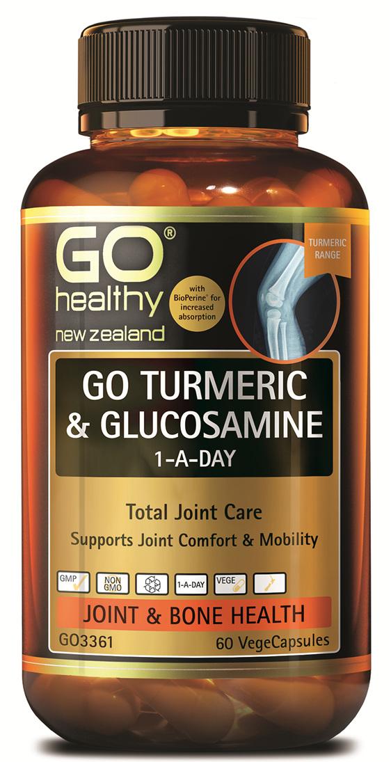 GO TURMERIC & GLUCOSAMINE (60 VCAPS)