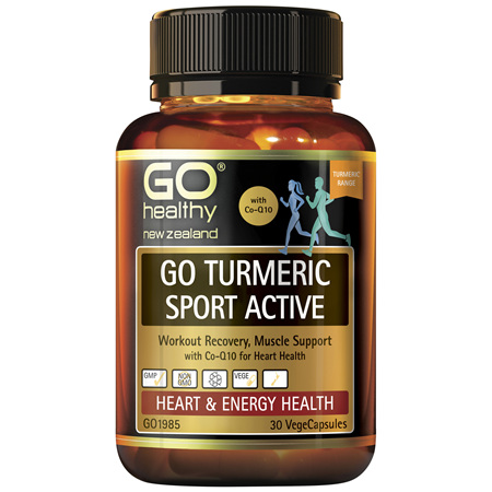 GO Turmeric Sport Act 1-A-Day 30Vcap