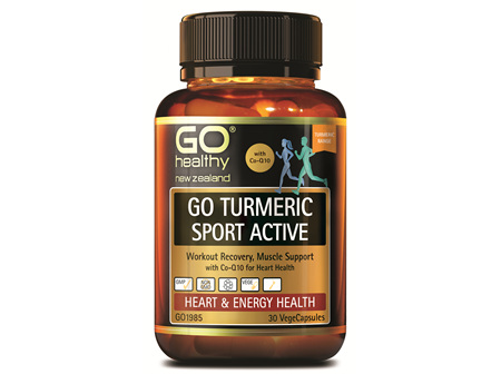 GO TURMERIC SPORT ACTIVE (30 VCAPS)