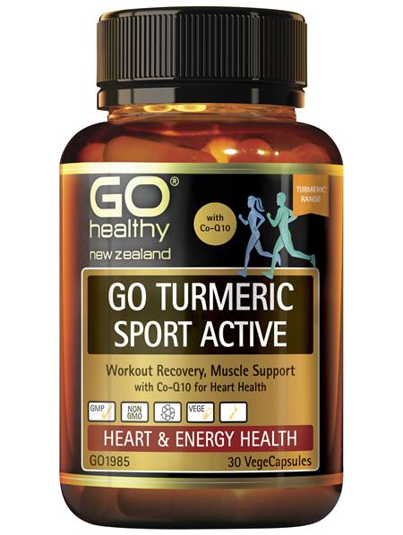 GO Turmeric Sport Active 30 VCaps