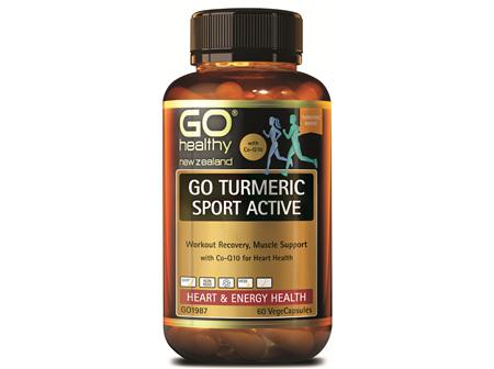 GO TURMERIC SPORT ACTIVE (60 VCAPS)