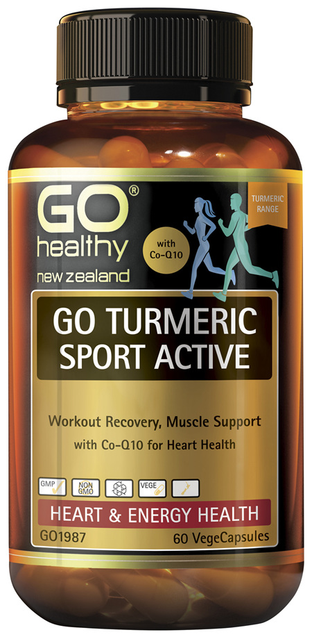 GO Turmeric Sport Active 60 VCaps