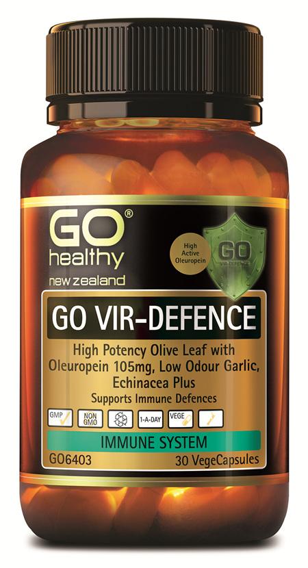 GO VIR-DEFENCE - HIGH POTENCY IMMUNE DEFENCE (30 VCAPS)