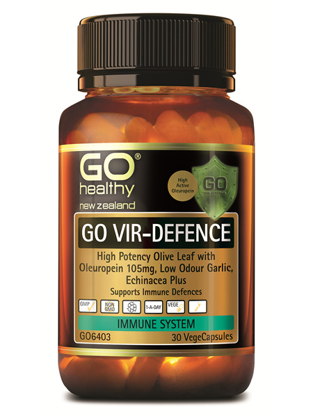 GO VIR-DEFENCE - High Potency Immune Defence (30 Vcaps)