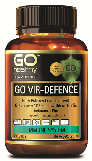 GO VIR-DEFENCE - HIGH POTENCY IMMUNE DEFENCE (60 VCAPS)
