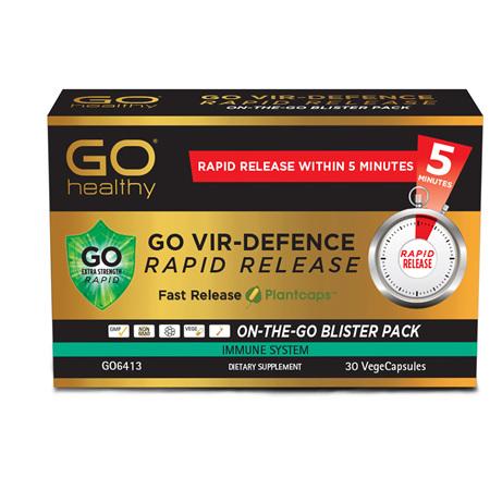 GO Vir Defence Rapid Extra Strength 30vcaps