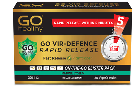GO Vir-Defence Rapid Release 30 VCaps
