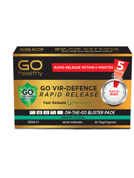 GO Vir-Defence Rapid Release 30 VCaps