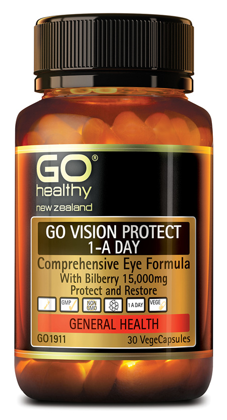 GO VISION PROTECT - Comprehensive Eye Formula (30 Vcaps)
