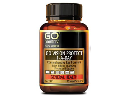 GO VISION PROTECT - Comprehensive Eye Formula (60 Vcaps)