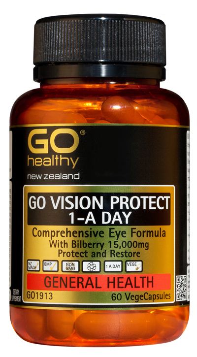 GO VISION PROTECT - Comprehensive Eye Formula (60 Vcaps)