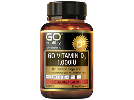 GO Vitamin D3 1000IU 90 VCaps