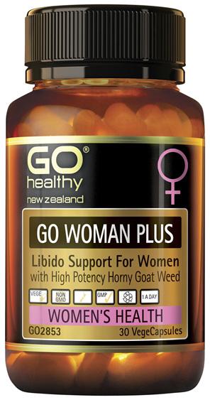 GO Woman Plus 30 VCaps